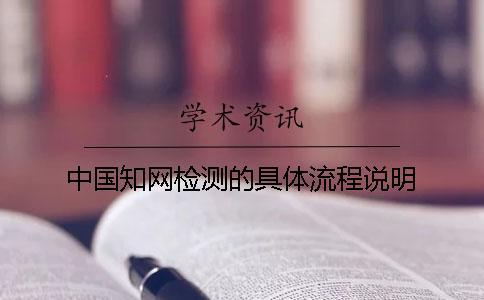 中国知网检测的具体流程说明